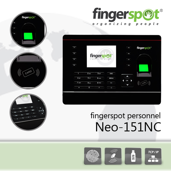 Fingerspot personnel neo-151nc - k-galaxy.com