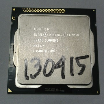 Proc intel dual core ib 3 ghz g2030 original tray+fan ori (01 thn) - k-galaxy.com