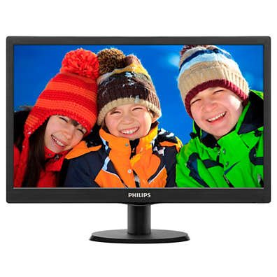 Monitor led philips 15.6 inch 163v5lsb23 - k-galaxy.com