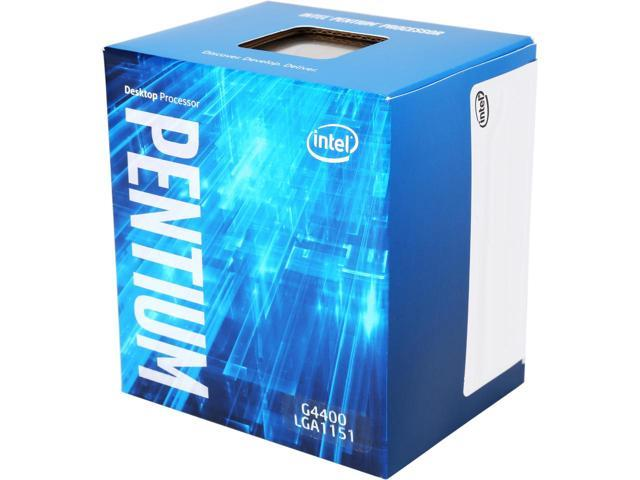 Processor intel dual core skylake 3.3ghz g4400 original box  - k-galaxy.com
