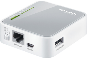 Wireless n router portable tp-link mr3020 - k-galaxy.com