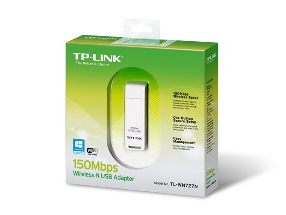 Wireless lite n usb adapter tp-link tl-wn727n (baru) - k-galaxy.com