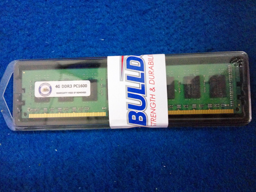 memory DDR3 BULLDOZER 4GB 12800