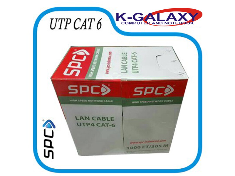 Kabel lan utp spc cat6 - k-galaxy.com